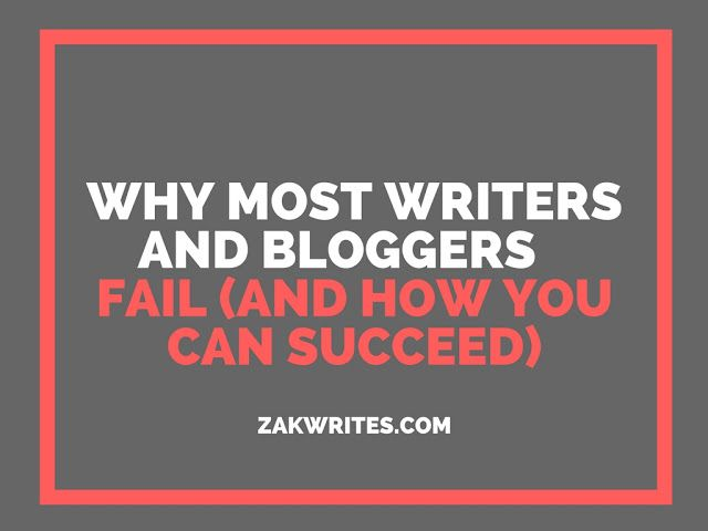 There comes a point in life when everyone discovers that failure is inevitable. The thing about failure is that it can be a stepping stone for greater achievements if channeled correctly. Let me show you how to succeed as a writer and blogger.