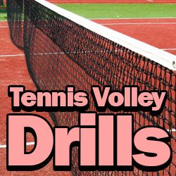 3 Awesome Tennis Volley Drills - Best Tennis Drills