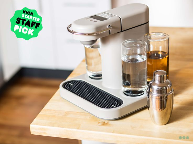 Finally a single serve cocktail machine. Bartesian: the first capsule cocktail machine project video thumbnail