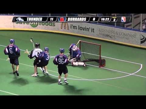 Langley Thunder postgame highlights vs. Maple Ridge Burrards 6-20-2012