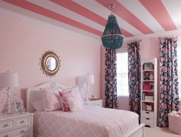17 Best ideas about Pink Bedroom Curtains on Pinterest | Girls ...