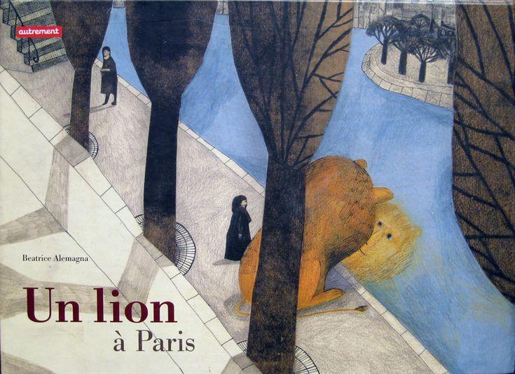 Un Leone a Parigi - Beatrice Alemagna