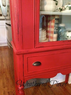 Weathered Pieces: American Paint Company - Fireworks Red