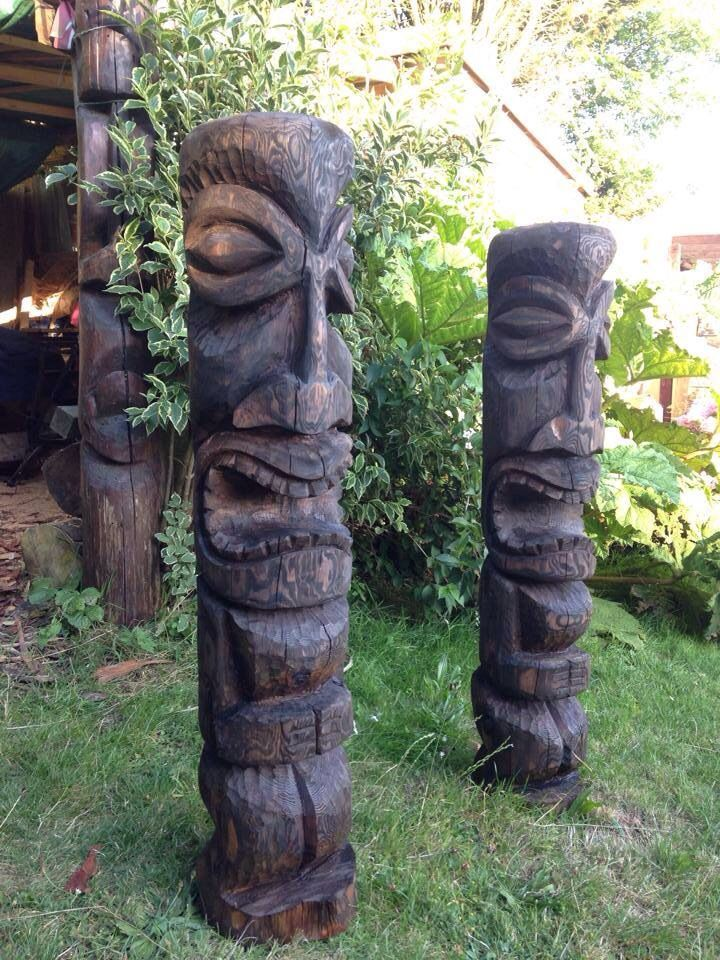 57 Best Tiki Statues Images On Pinterest Drift Wood