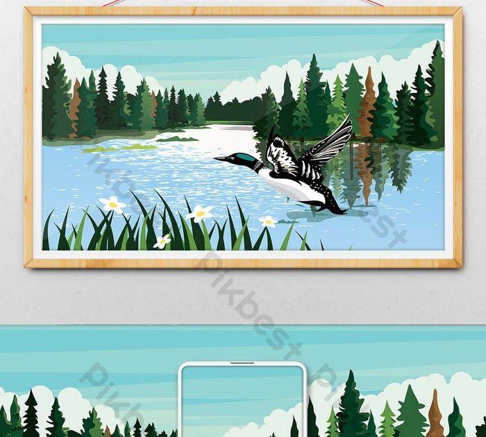 Wow 30 Indah Pemandangan Alam Ilustrasi Pemandangan Alam Danau Yang Indah Ilustrasi Download 15 Potret Wisata Alam Palin Pemandangan Alam Alam Yang Indah