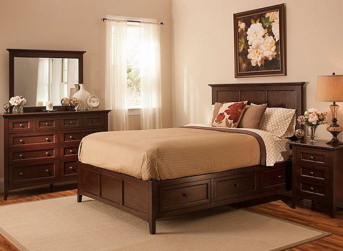 piece queen platform bedroom set with storage bed makes a beautiful