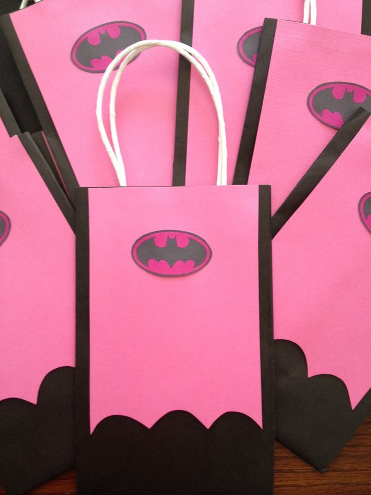 Made to Order  Inspired BATGIRL Gift Bags by MyAllyBally on Etsy, $1.50
