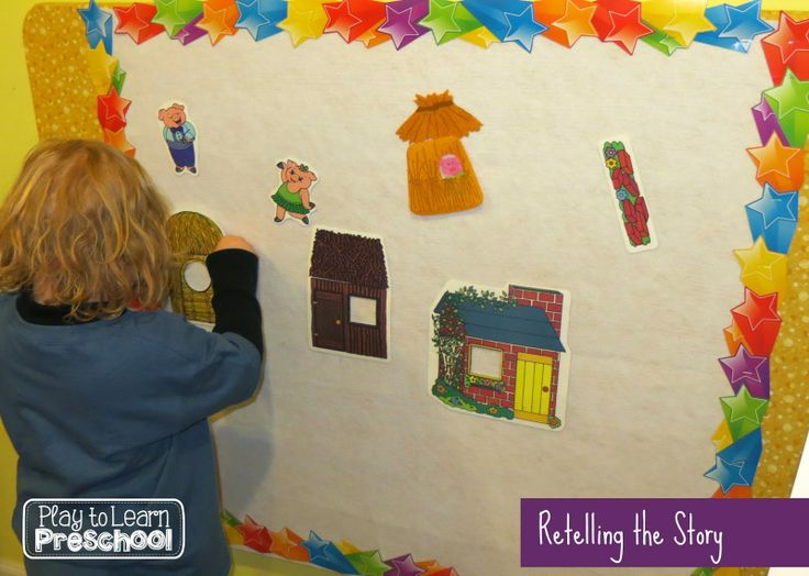 The Three Little Pigs Flannel Board Play To Learn