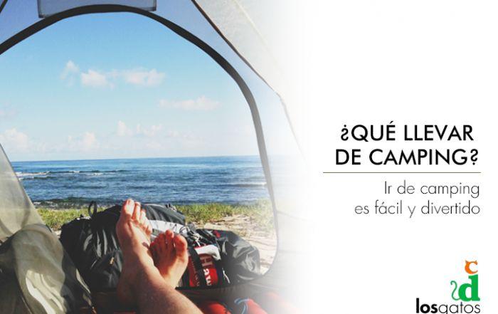 Ir de camping es una opción cada vez más elegida para hacer turismo. ¿Sabes como ir perfectamente equipado?