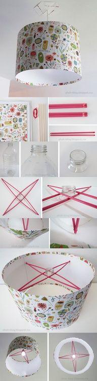 Como fazer uma cúpula de material reciclável.