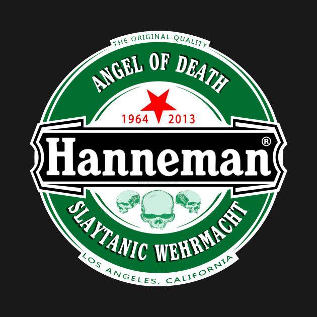 Hanneman (Slayer Beer) T-Shirt @TeePublic!
