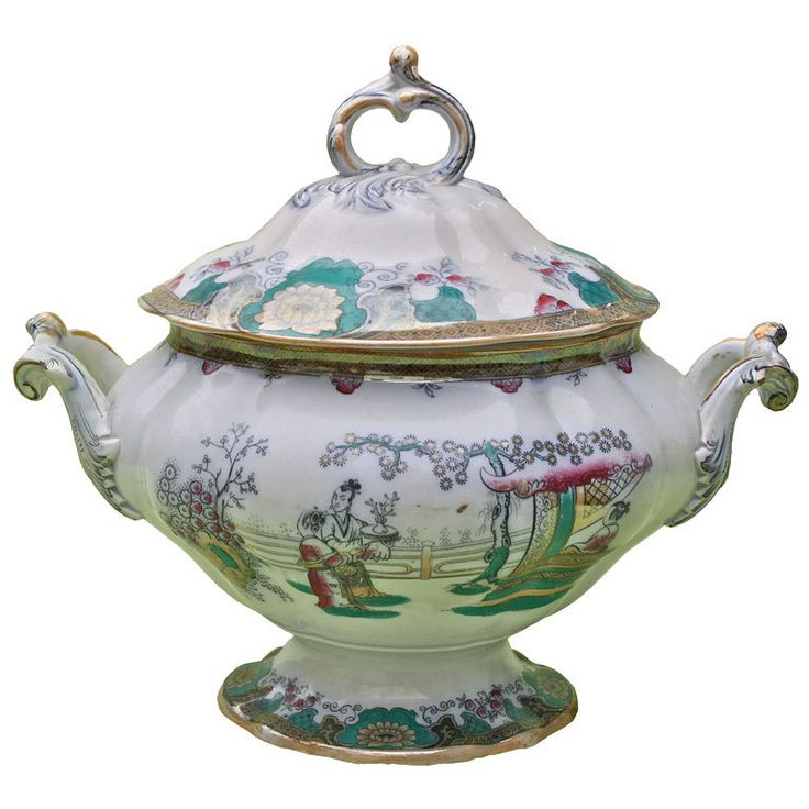 """Canton"" Boch Freres Tureen 