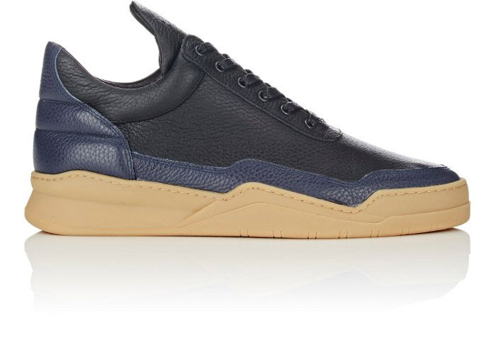 Filling Pieces BNY Sole Series: Men's Leather Low Top Sneakers | Barneys New York