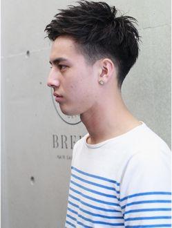 ヘアサロン ブリーン トウキョウ(Hairsalon BREEN Tokyo)【BREEN原宿】2ブロックソフトモヒカン◎アップバングスタイル