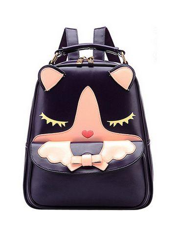 Cute Cartoon Print Versatile Backpack For Women & Backpacks - at Jollychic