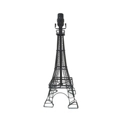 Eiffel Tower Lamp Base - available at Target stores or Target.com  This would be great for a travel themed room.