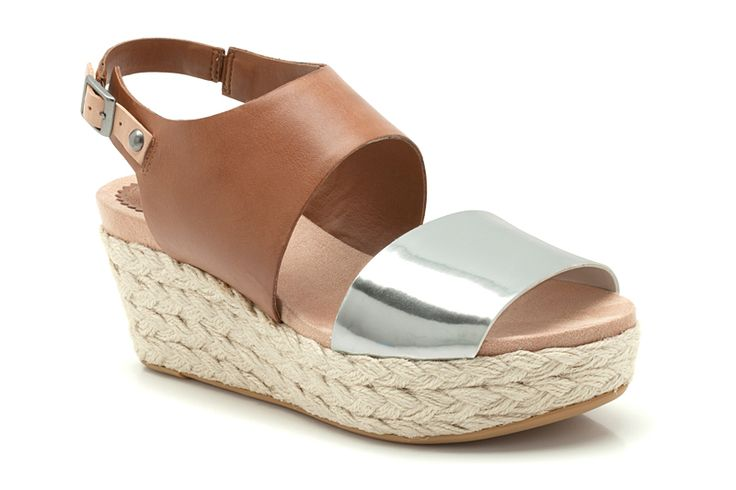 Onslow Holly, metallic leather