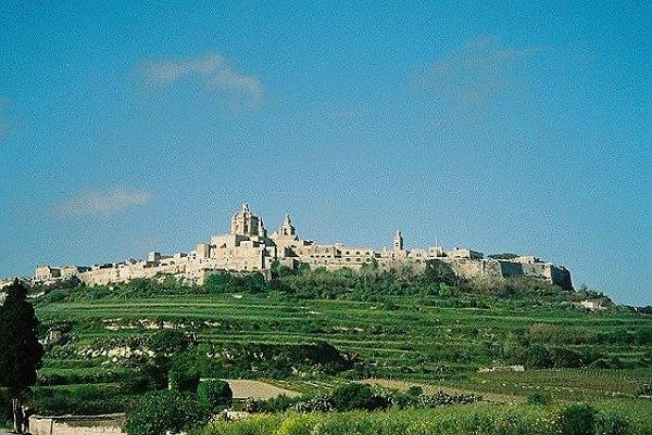 Отдых на Мальте — Древний город Мдина находится в центре о. Мальта