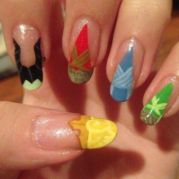 Sleeping Beauty Nails: Sleeping Beauty Nails