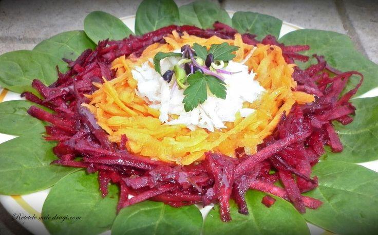 salata de cruditati cu spanac