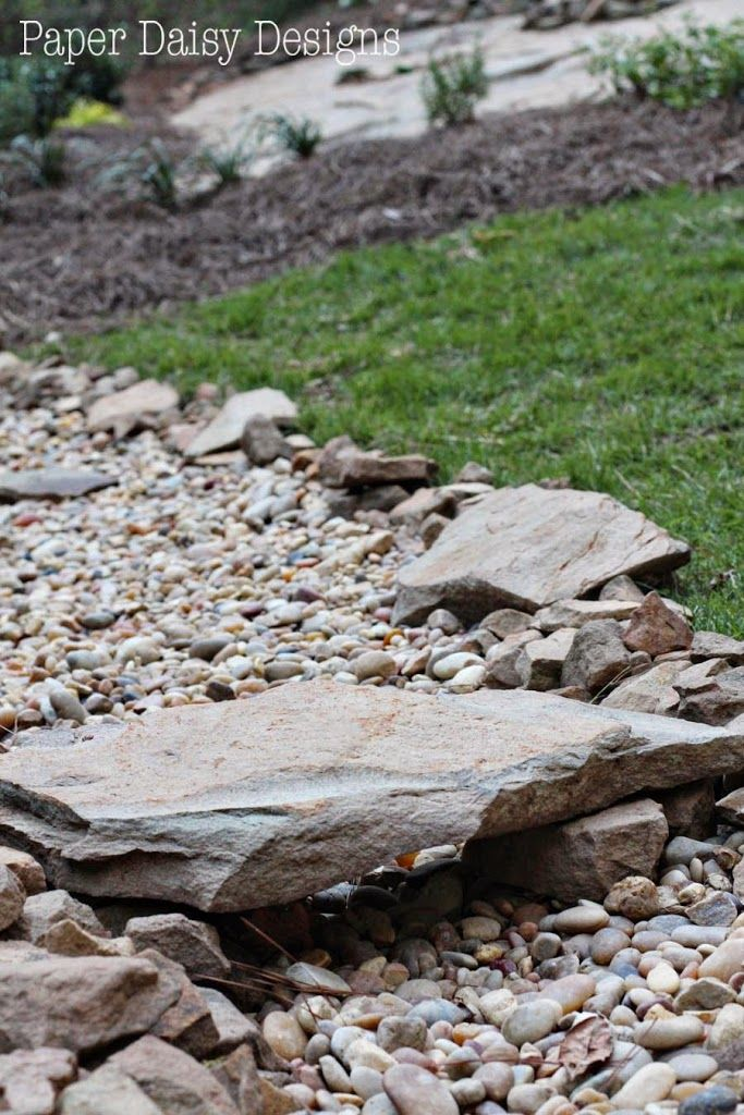 Backyard Hill Drainage :  landscaping ideas on Pinterest  Gardens, Backyard ponds and Backyards