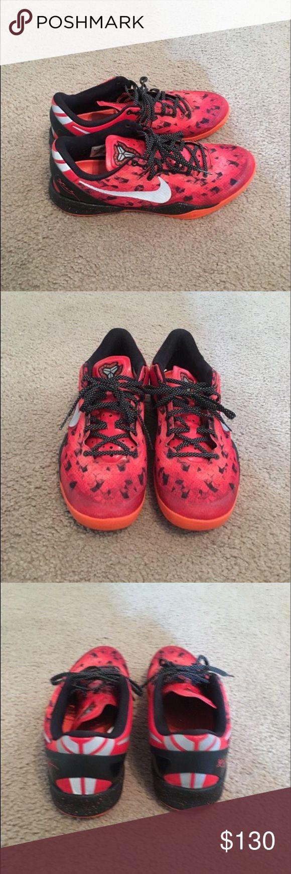 Men's Nike Kobe 8 Men's Nike Kobe 8 practically new  size 13 Nike Shoes Sneakers