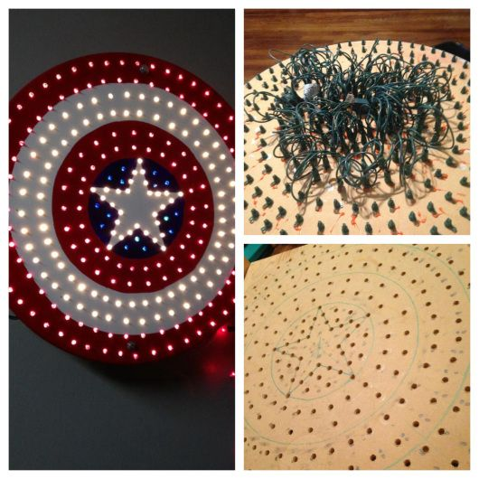 Marvel Nursery Captain America Shield