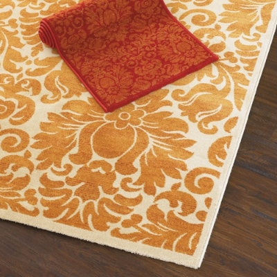 $260Orange You Glad, Dining Room Rugs, Livingroom, Living Room Rugs, Colors Combinations, Eva Rugs, Master Bedrooms, Modern Rugs, Ballard Design