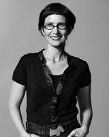 The designer herself; Lill O. Sjöberg