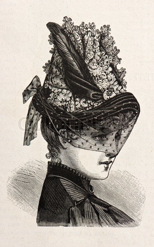 Sabrina's hat with veil will be something like this.