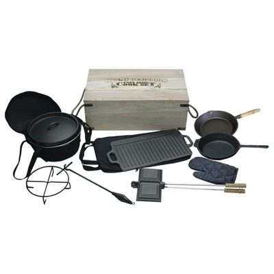 10 Pce Cast Iron Set