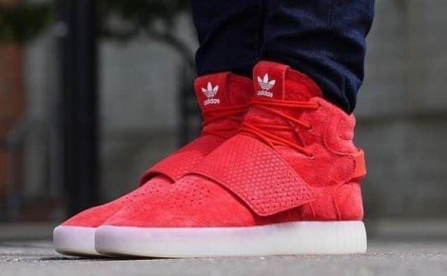 f708da1a8bcd New Mens Adidas Tubular Invader Strap Red OCTOBER Shoes Suede Gum BB5039  Size 10  adidas  AthleticSneakers