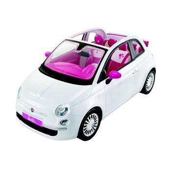 Barbie Doll and Fiat Car by Mattel #KohlsDreamToys