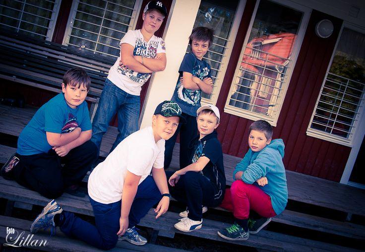 #Grabbarna på #skolan  The #boys at #school