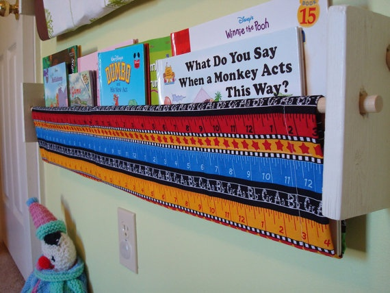 Homeschool Book Sling. What A Great Idea For A School Room (or Bedroom)
