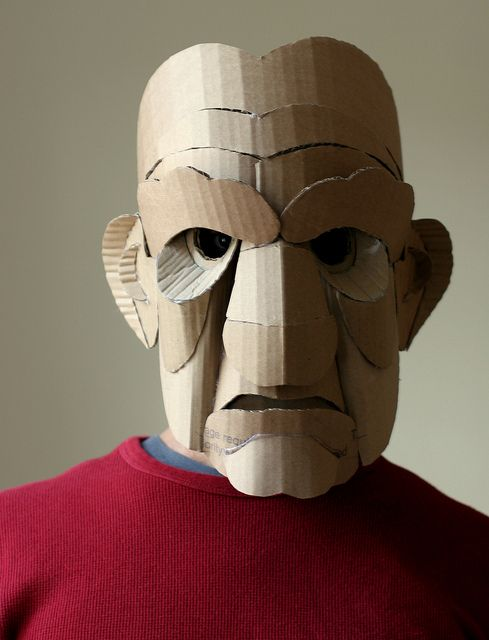 Old Man Mask by wrnking, via Flickr