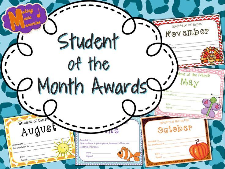 teacher of the month certificate template 5 best templates ideas