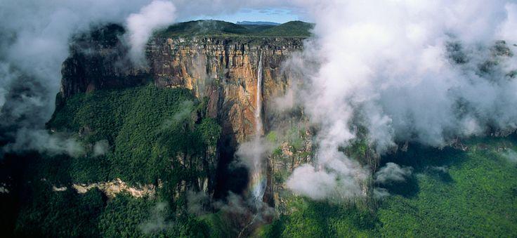 ベネズエラのギアナ高地とエンジェルフォール