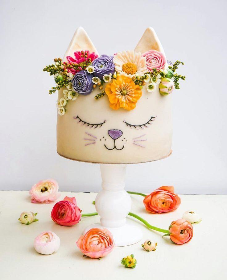 Ich bin mir ziemlich sicher, dass mit einer Blumenkrone alles hübscher ist … einschließlich dieses Spektrums …   – baby kuchen
