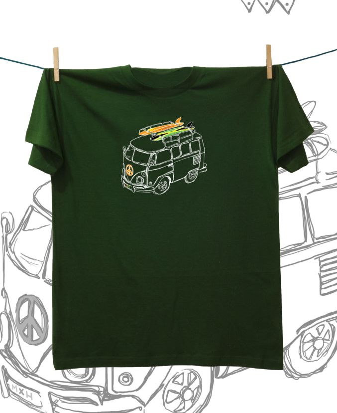 Camiseta ·MXH· Carretera y manta