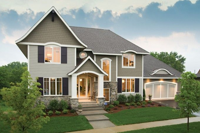 Craftsman House Plan with 3797 Square Feet and 4 Bedrooms from Dream Home Source | House Plan Code DHSW076730