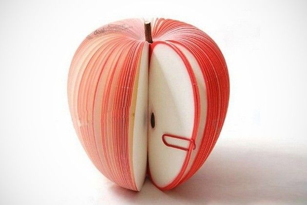 Creative Apple-Shaped Memo Pad