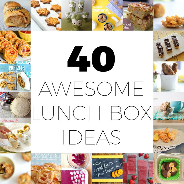Discover 40 awesome and easy lunch box ideas that your kids will love to eat, and you can easily whip up for them.