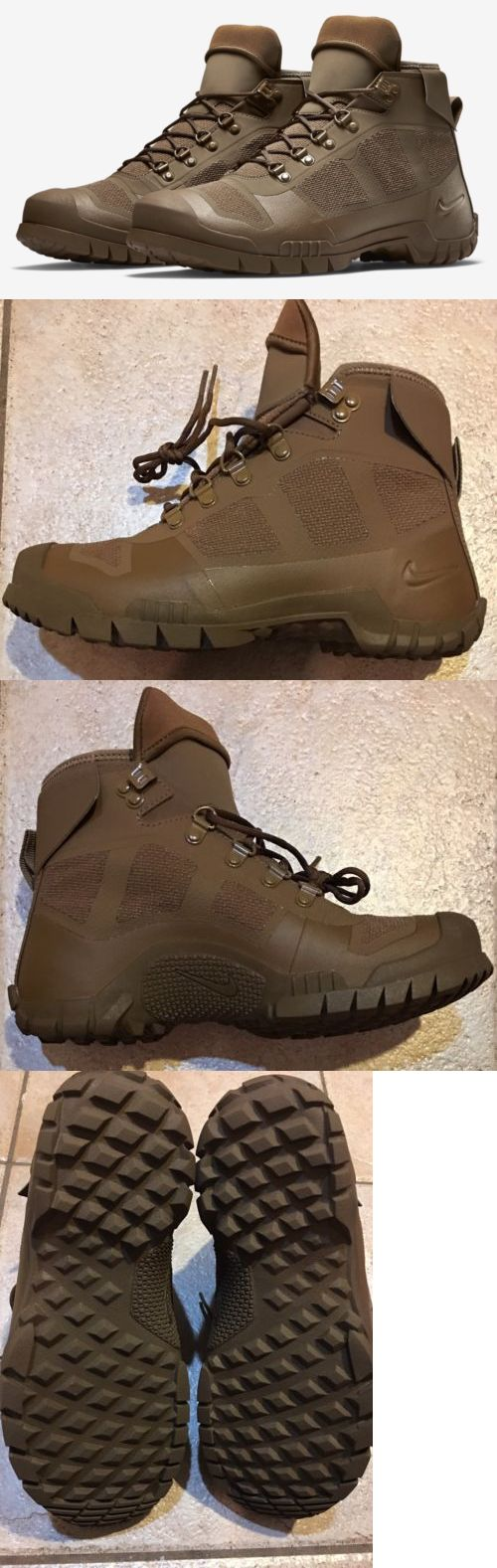 Other Hiking Gear 27363: New Nike Sfb Mountain Military Insulated Boot Boots Men S Size 6 Women S 7.5 -> BUY IT NOW ONLY: $49.99 on eBay!