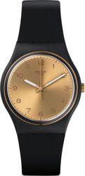 Swatch Golden Friend Too Three Hands Rubber Strap GB288