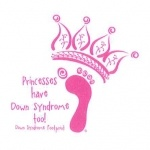 Idea for my future tattoo!! <3 Down Syndrome Awareness Princess Tattoo