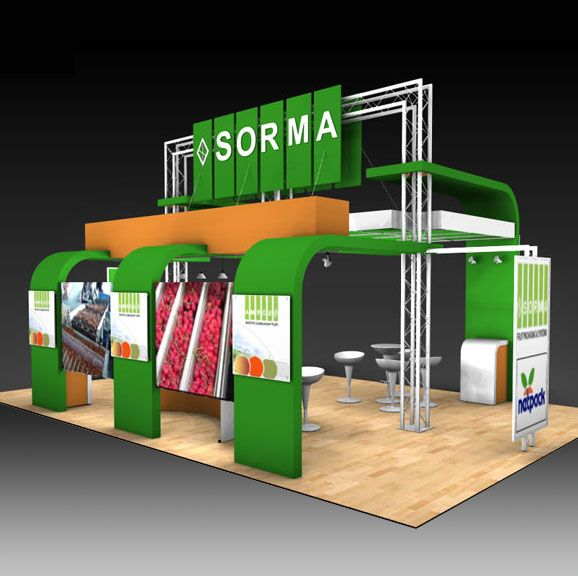 Exhibition Stand Attractors : Curated trade show display designs ideas by