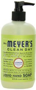 Mrs. Meyer's Clean Day Liquid Hand Soap, Lemon Verbena, 12.5 Fluid Ounce - See more at: http://supremehealthydiets.com/category/beauty/skin-care/hand-nail-skin-care/#sthash.uZP8hUrQ.dpuf