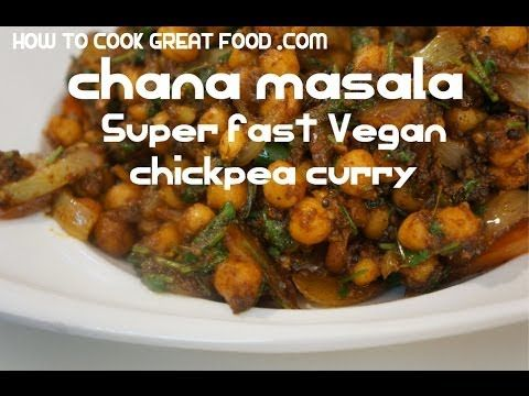 Chana Masala Recipe Indian style Chickpeas Vegan