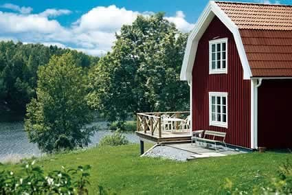 Sweden . . I love this barn-design home . . beautiful